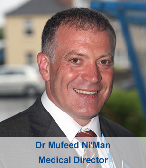 Dr Mufeed Ni'Man - Medical Director